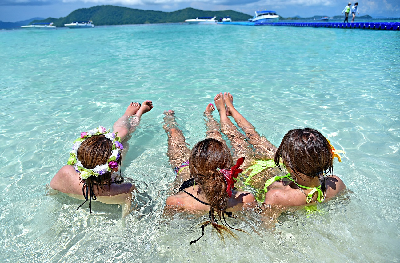 Coral And Racha Island Tour